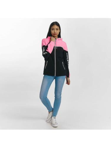 Superdry Damen Übergangsjacke Colour Block Cagoule in pink