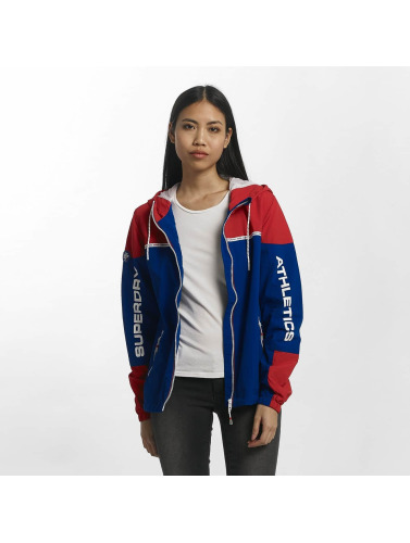 Superdry Damen Übergangsjacke Colour Block Cagoule in rot