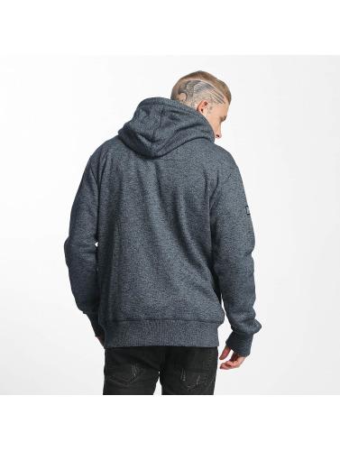 Superdry Herren Zip Hoodie Orange Label Urban in schwarz