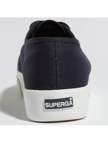 Superga Damen Sneaker Cotu in blau