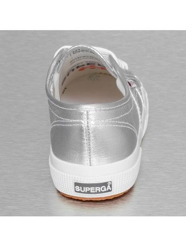 Superga Mujeres Zapatillas de deporte 2750 Cotmetu in plata