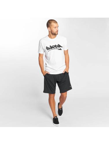 Supra Hombres Camiseta Marker Felt in blanco