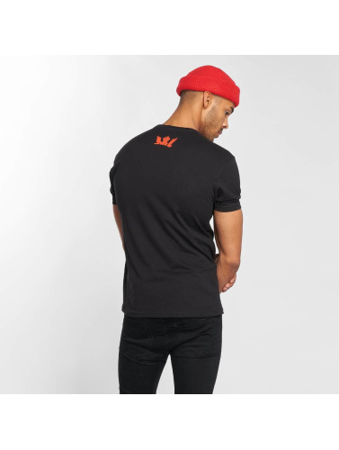 Supra Hombres Camiseta Marker Felt in negro