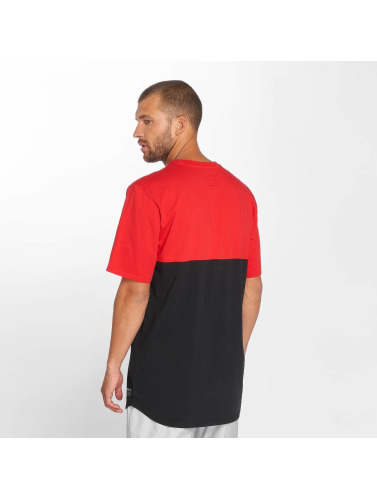 Supra Hombres Camiseta Block in rojo