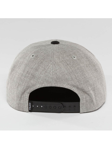 Supra Snapback Cap Icon in grau