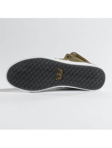 Supra Herren Sneaker Aluminium in olive