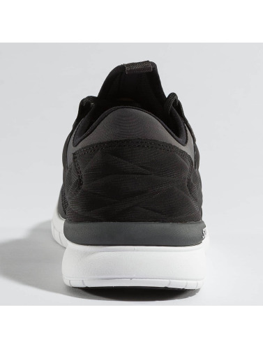 Supra Herren Sneaker Flow Run in schwarz