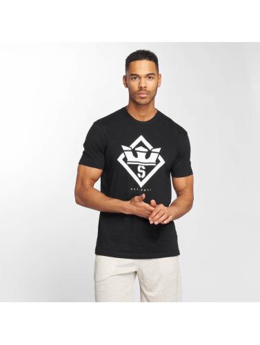 Supra Herren T-Shirt Stencil in schwarz