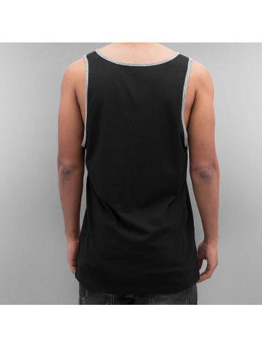 Supra Herren Tank Tops Crown Prem Ringer in schwarz