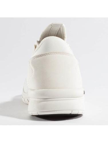 Supra Hombres Zapatillas de deporte Flower Run in blanco