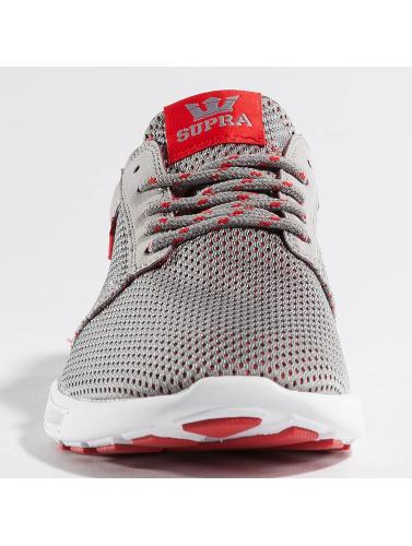 Supra Hombres Zapatillas de deporte Hammer Run in gris
