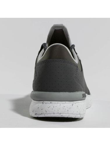Supra Hombres Zapatillas de deporte Flower Run in gris