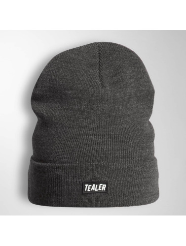 Tealer Beanie PVC Patch in grau
