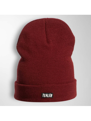 Tealer Beanie PVC Patch in rot