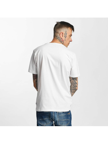 Tealer Hombres Camiseta Rond Galaxy in blanco