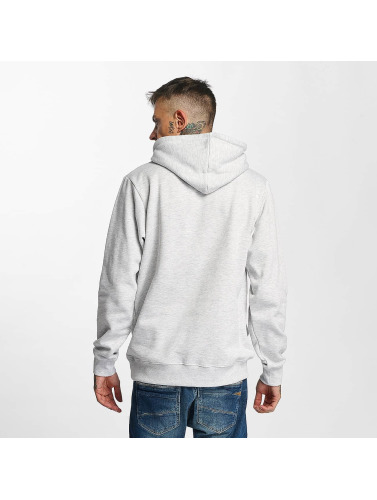 Tealer Herren Hoody Glitch Color in grau