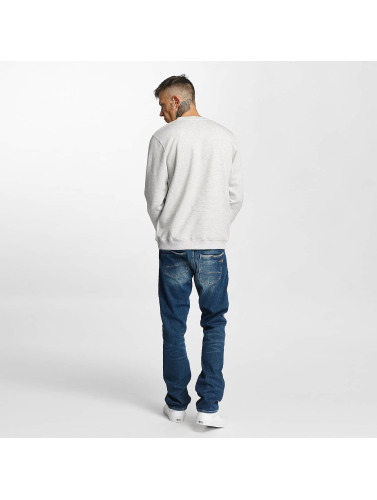 Tealer Hombres Jersey Rond Galaxy in gris
