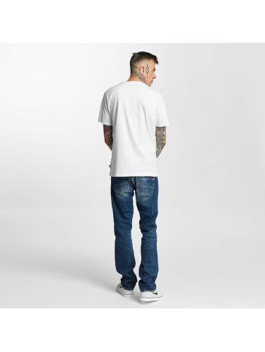 Tealer Herren T-Shirt Glitch Color in weiß