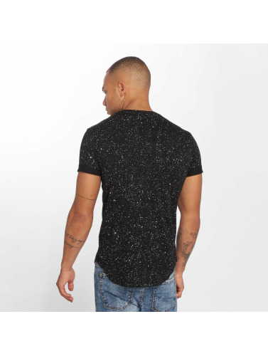 Terance Kole Hombres Camiseta Paname in negro