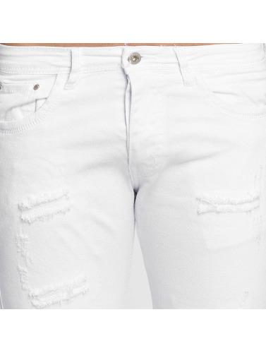 Terance Kole Herren Skinny Jeans Milan in weiß
