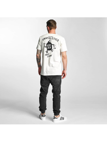 Hombres The blanco Livin Camiseta Dudes Fast in 08an85zZ