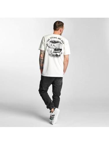 Dudes Hombres Camiseta High Five In Blanco stort spekter av 22bDBf26