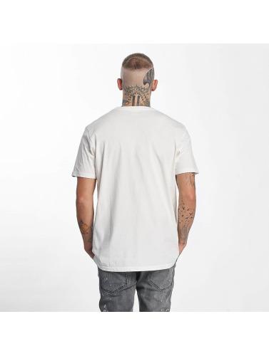 The Dudes Hombres Camiseta Easy Tiger in blanco