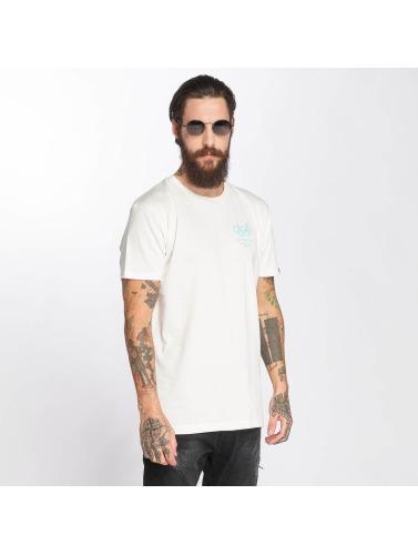 The Dudes Hombres Camiseta Dolphin in blanco