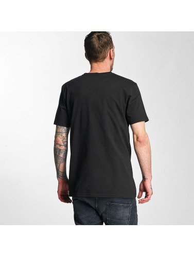 The Dudes Hombres Camiseta Bacon Cheese Burgers in negro