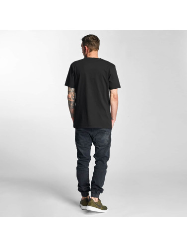 The Dudes Hombres Camiseta Boneyard in negro