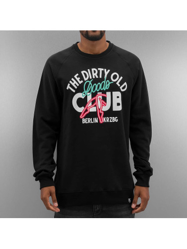 The Dudes Herren Pullover Dirty Doods in schwarz