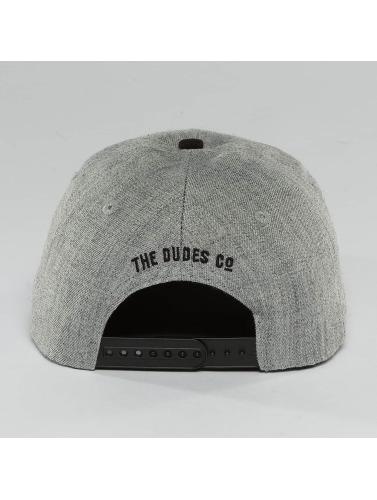 The Dudes Snapback Cap High in grau