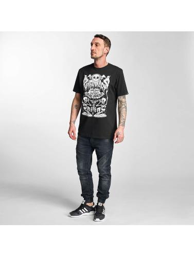 The Dudes Herren T-Shirt Highmare in schwarz