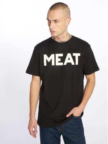The Dudes Herren T-Shirt Meat in schwarz
