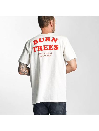 The Dudes Herren T-Shirt Burn Trees in weiß