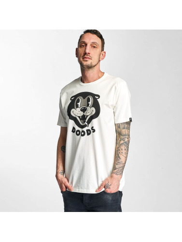 The Dudes Herren T-Shirt Doods Bear in weiß