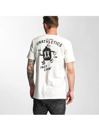 The Dudes Herren T-Shirt Fast Livin in weiß