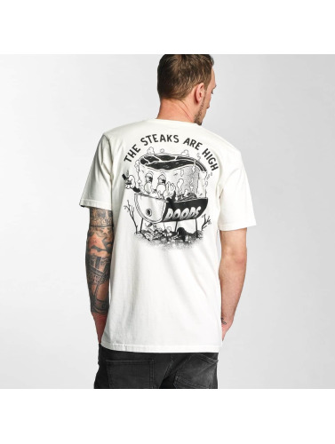 The Dudes Herren T-Shirt High Five in weiß