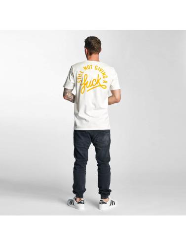 The Dudes Herren T-Shirt SNGAF in weiß