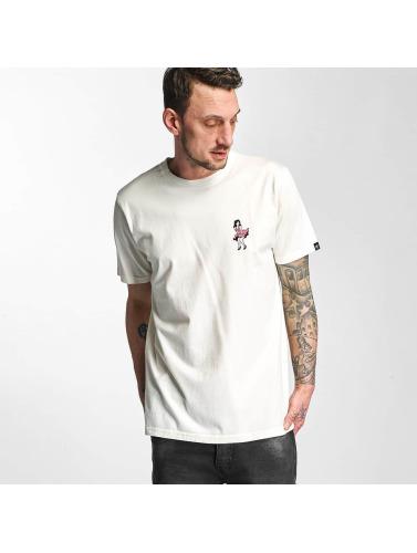 Original- Rabatt Schnelle Lieferung The Dudes Herren T-Shirt Towing in weiß Auslass Ausgezeichnet MLrnkWZnTt