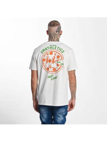 The Dudes Herren T-Shirt Pizza 24/7 in weiß