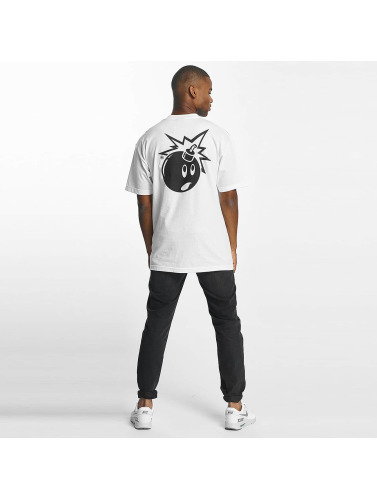 The Hundreds Hombres Camiseta Forever Simple Adam in blanco