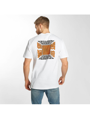 The Hundreds Hombres Camiseta Square in blanco