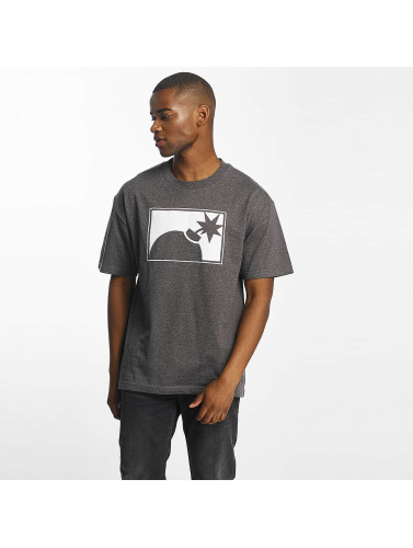 The Hundreds Hombres Camiseta Forever Halfbomb in gris