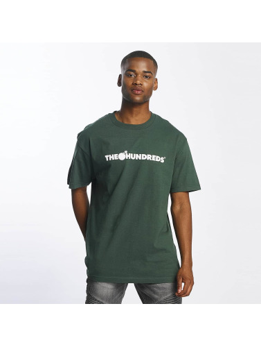 The Hundreds Hombres Camiseta Forever Bar Logo in verde