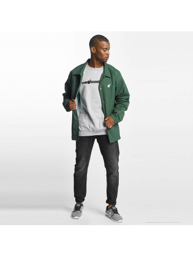 The Hundreds Hombres Chaqueta de entretiempo Bar Logo Coaches in verde