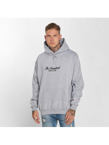 The Hundreds Hombres Sudadera Rick Embroidery in gris