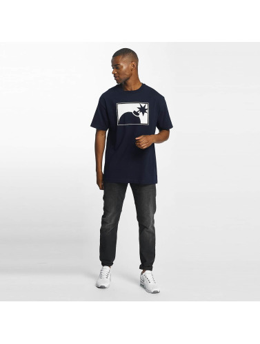 The Hundreds Herren T-Shirt Forever Halfbomb in blau