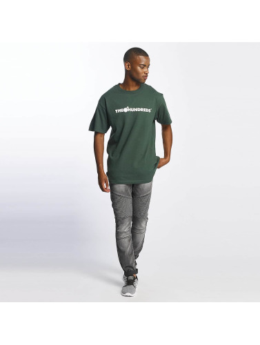 The Hundreds Herren T-Shirt Forever Bar Logo in grün