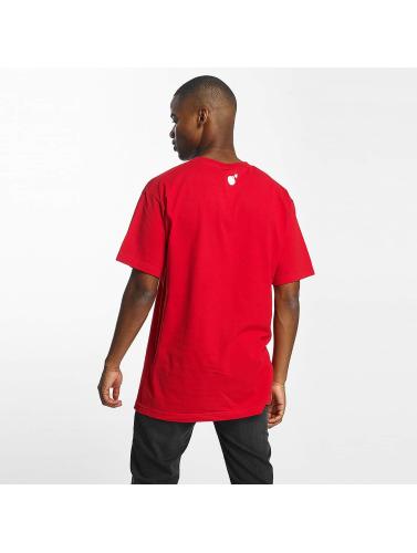 The Hundreds Herren T-Shirt Forever Halfbomb in rot